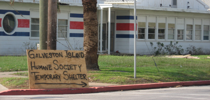 Galveston Humane Society Temporary Shelter
