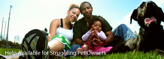 Help Available for Struggling Pet Owners
