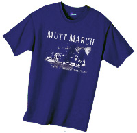 Mutt March t-shirt