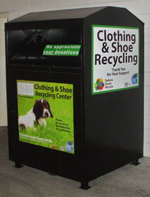 Donate your used clothing and shoes