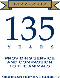 135th Anniversary of the Michigan Humane Society