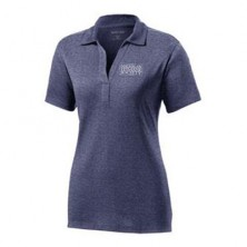 Ladies' Heathered Wicking Polo