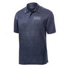 Men's Heathered Wicking Polo