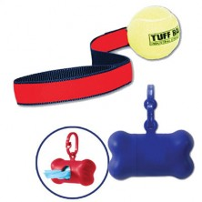 Pet Tuff Toy & Bag Holder With 2 Rolls Of Bags