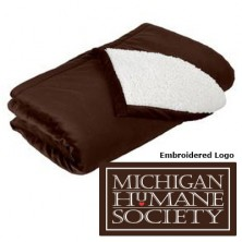 MM16 1200 brown mountain lodge blanket