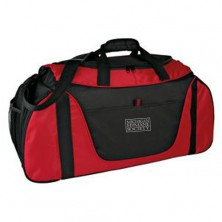 MM16 576 gym bag - black and red