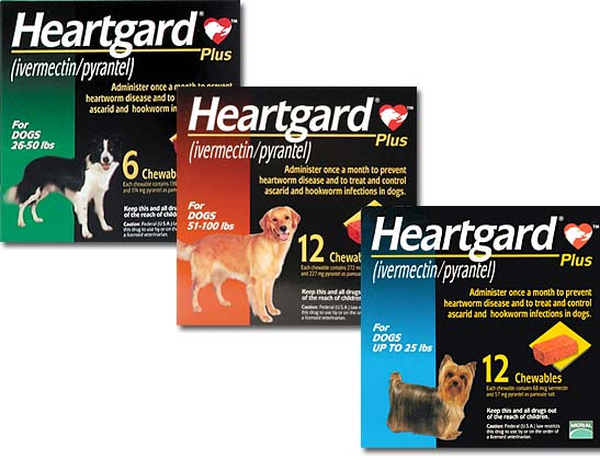 Heartgard Heartworm Preventative